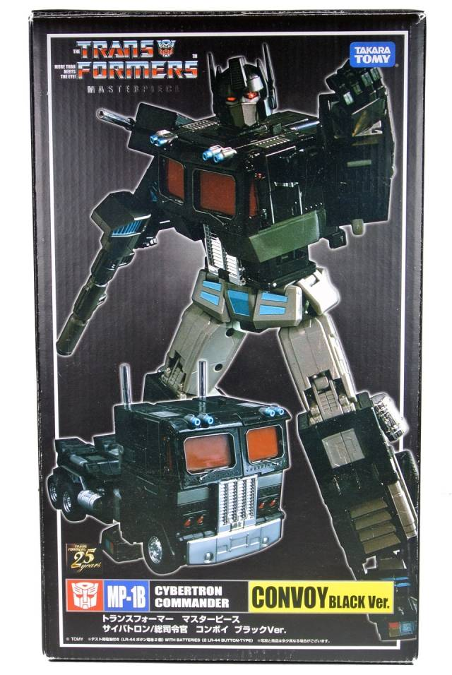 MP-01B Masterpiece Black Version Convoy - MIB