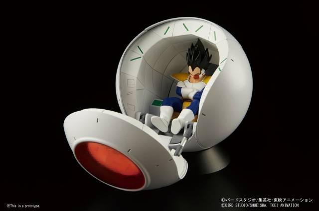 Dragon Ball Z - Figure-rise Mechanics - Saiyan Space Pod