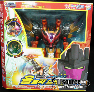 Galaxy Force - GD-07 Korean Flame Convoy - MISB