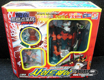 Galaxy Force - GX-01 Korean Noizemaze - MISB