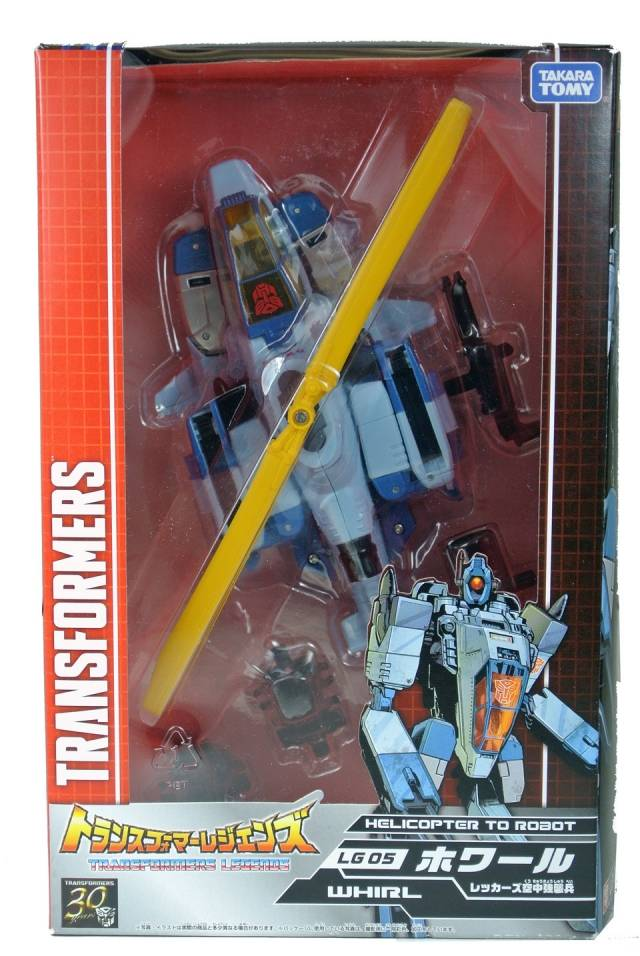 Transformers Legends Series - LG05 Whirl - MIB