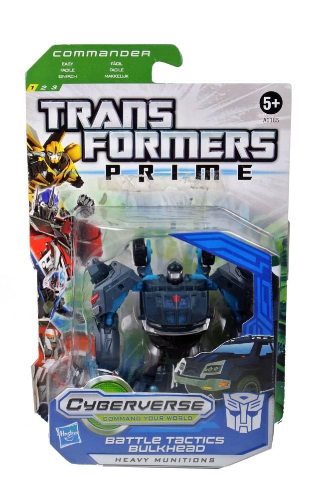 Transformers Prime - Cyberverse Battle Tactics -  Bulkhead - MOSC