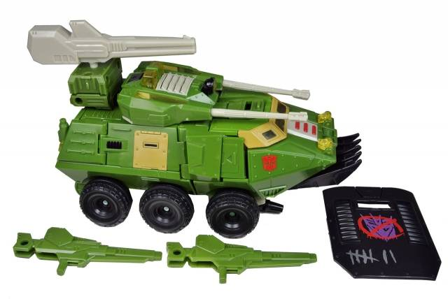 Universe - Hardhead with Hothead Upgrade kit - Loose - Complete