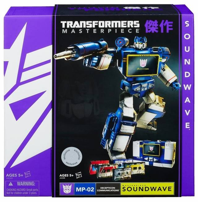 Masterpiece Soundwave w/ 5 Cassettes - Asia Exclusive