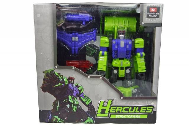 TFC Toys - Hercules - Structor - MIB - 2nd Release