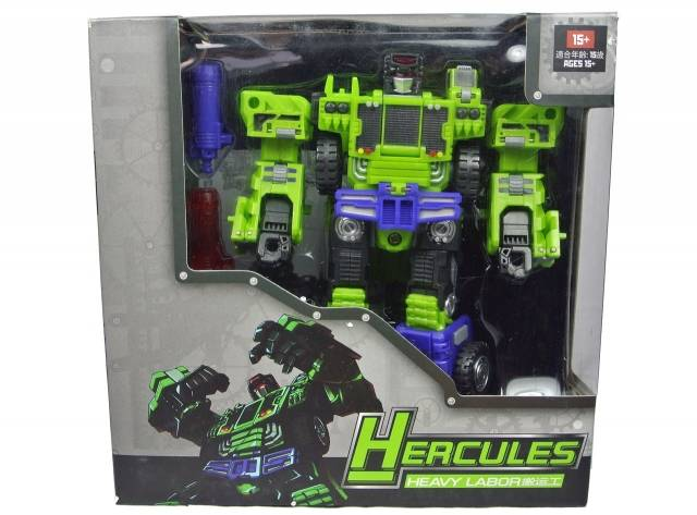 TFC Toys - Hercules - Heavylabor - MIB - 2nd Release