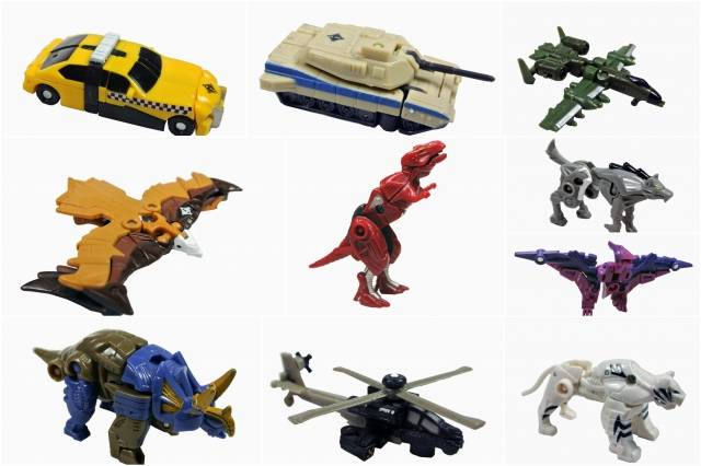 UNIVERSE - MINI-CON CLASS 10-PACK - LOOSE 100% COMPLETE