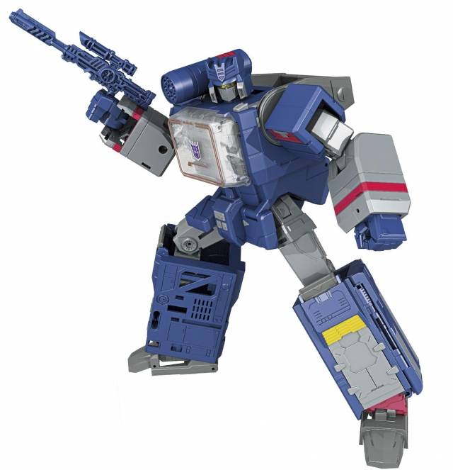 Leader Soundwave and Soundblaster | Transformers Titans Return