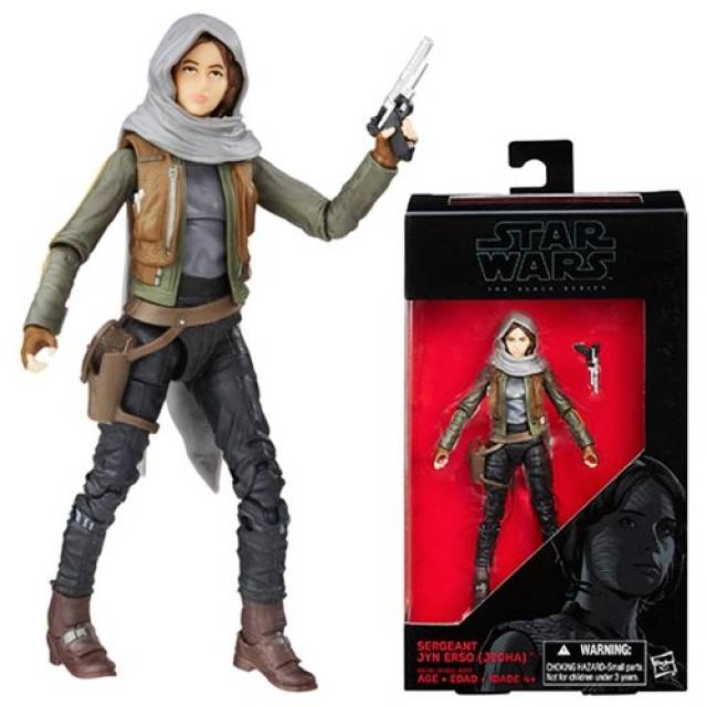 Star Wars Black - Rogue One - Sgt. Jyn Erso 6 Inch