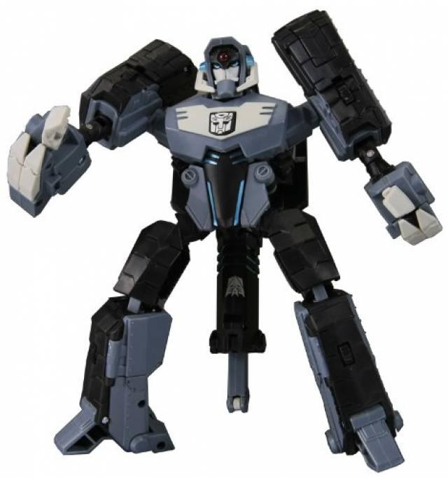 Japanese Transformers Animated - TA14 Showwave / Shockwave