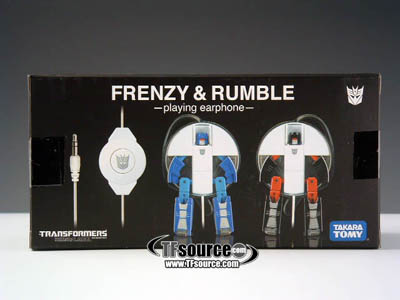 Music Label Frenzy & Rumble Headphones