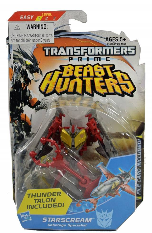 Beast Hunters - Transformers Prime - Legion Class Starscream - MOSC