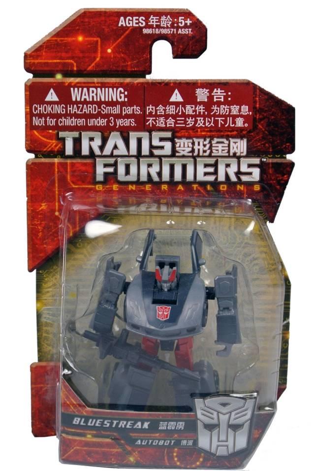 Transformers 2012 - GDO Legions Bluestreak - MOSC