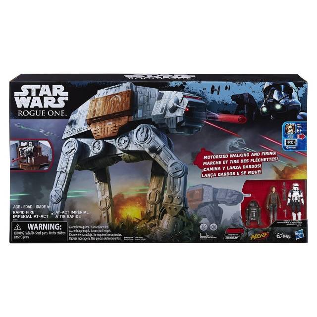 Star Wars Black - Rogue One - Rapid Fire Imperial AT-ACT Vehicle