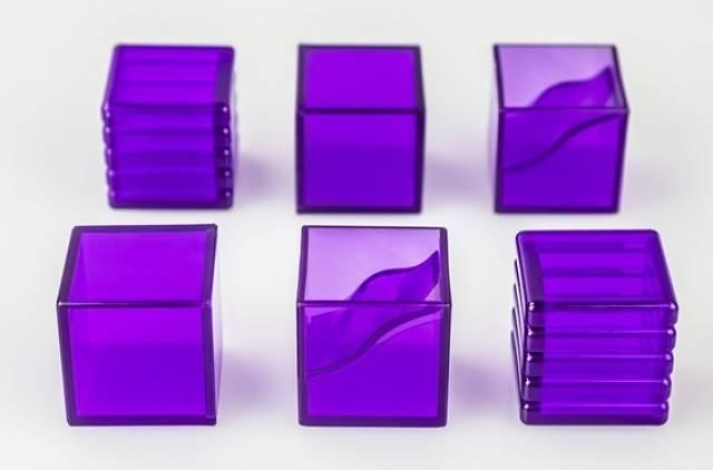 KFC - KP-15P E-Nergeon Cube - Purple Set of 6