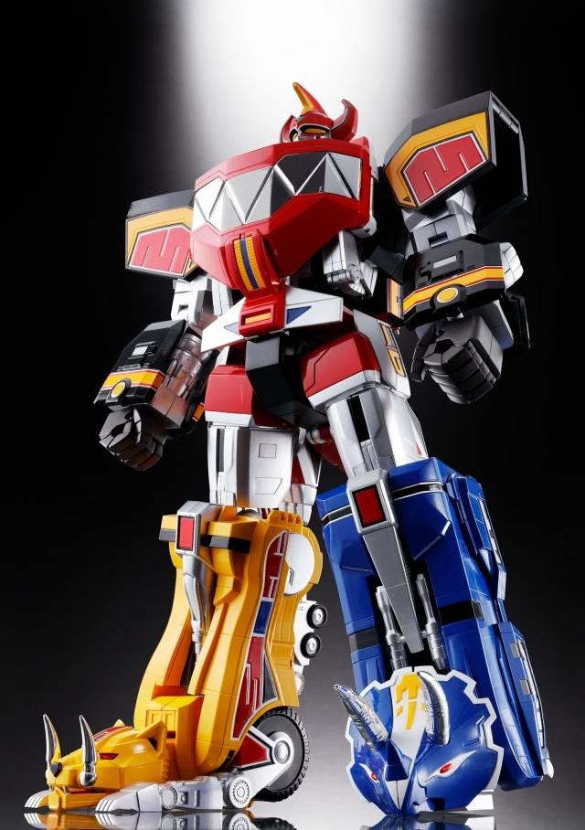 Soul of Chogokin - MM Power Rangers - GX-72 Megazord