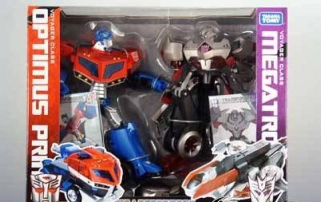 Japanese transformers animated optimus prime vs megatron - Transformers cartoon optimus prime vs megatron ...