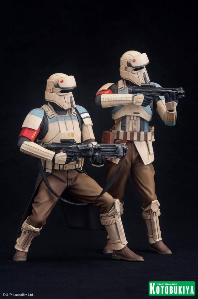 Kotobukiya - Star Wars Rogue One - Scarif Trooper Two Pack ArtFX+