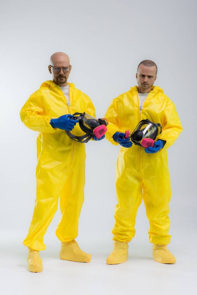 Threezero - Breaking Bad Heisenberg and Jesse Hazmat Combo - 1/6 Scale Figures