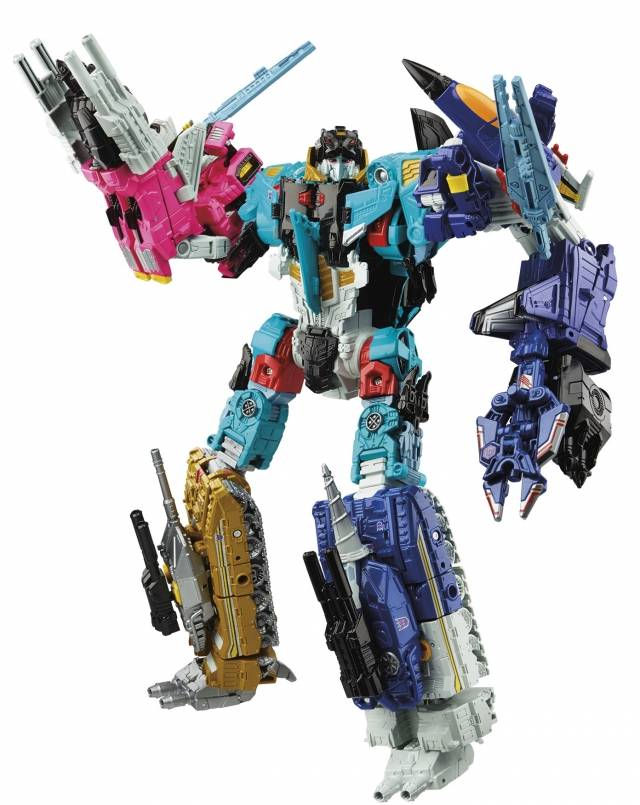 Combiner Wars 2016 - Liokaiser - Boxed Set