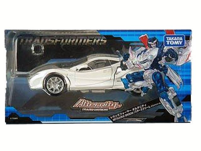 Alternity A-04 Okamora Orochi Starscream - White