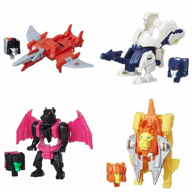 Titans Return 2016 - Titan Masters Wave 3 - Set of 4