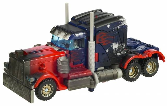 TFTM - Battle Damage Optimus Prime - Loose Complete