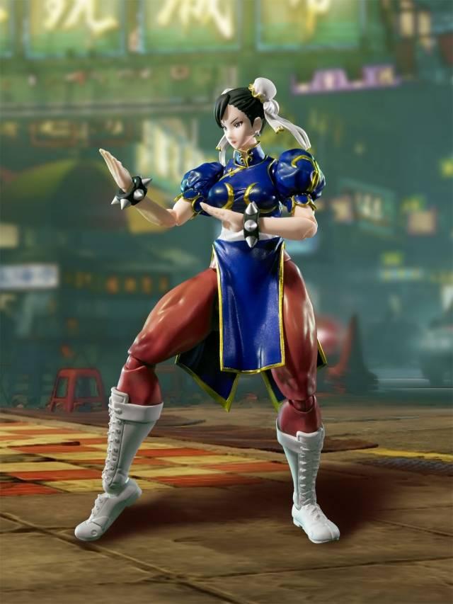 S.H. Figuarts - Street Fighter V - Chun Li