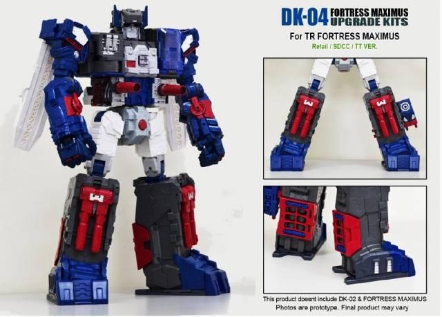 DNA Design - DK-04 - Fortress Maximus - Foot Upgrade Kit