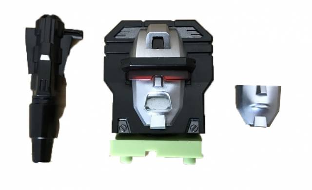 ToyWorld - Constructor - G1 Replacement Head - Green Version