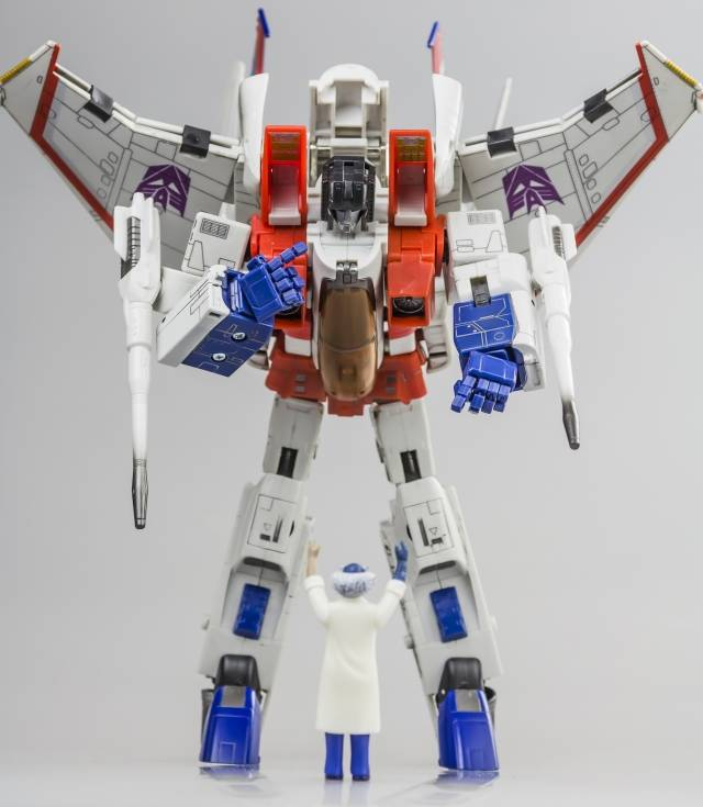 KFC - KP-HS hands for MP-03 Hasbro Masterpiece Starscream