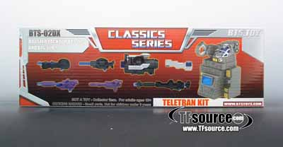 BTS-02 DX Teletran Accessories Pack