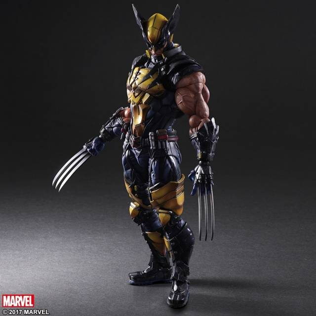 Play Arts Kai - Marvel Universe - Wolverine
