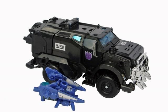Japanese Transformers Prime - AM-24 - Break Down Cyrus - Loose 100% Complete