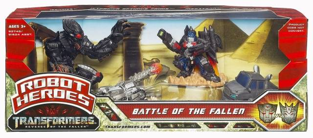 Robot Heroes - Battle of the Fallen - MISB