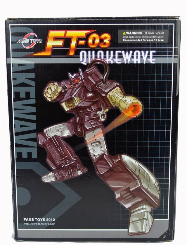 FansToys FT-03 Quake Wave - 1st Run - MIB