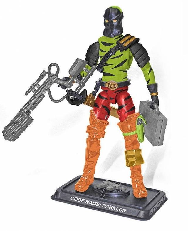 GI JOE 2017 - Subscription 5.0 Figure - Darklon