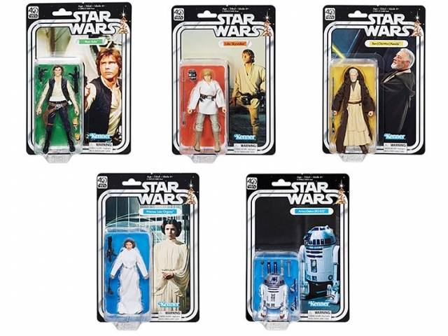 Star Wars Black Series 6'' - 40th Anniversary Figure - Wave 01 - Set of 5