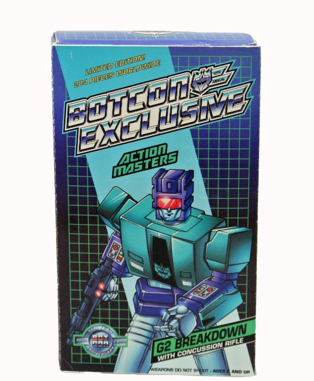 Botcon 2004 - Action Masters - G2 Breakdown - MISB