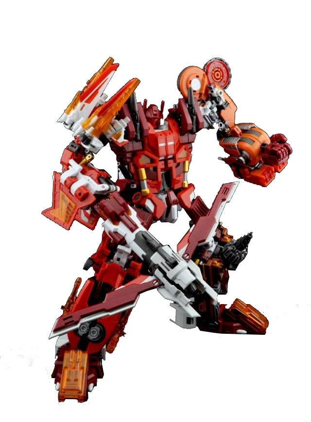 Make Toys - MTCM-03 Quantron - Set of 5 - Loose 100% Complete