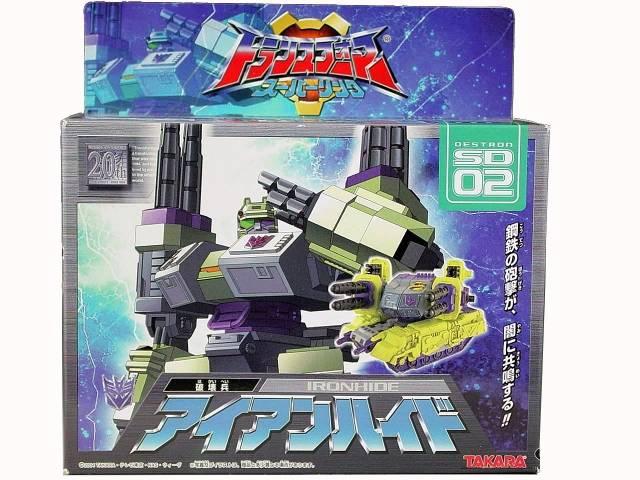 Superlink - SD-02 Ironhide (Demolishor) - MIB
