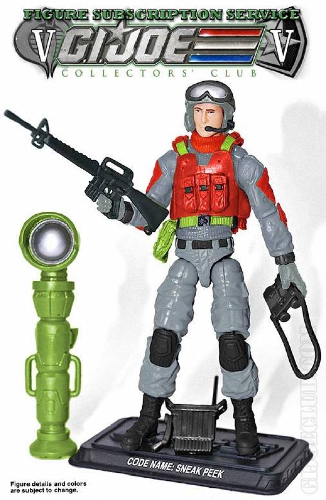 GI JOE 2017 - Subscription 5.0 Figure - Sneak Peek