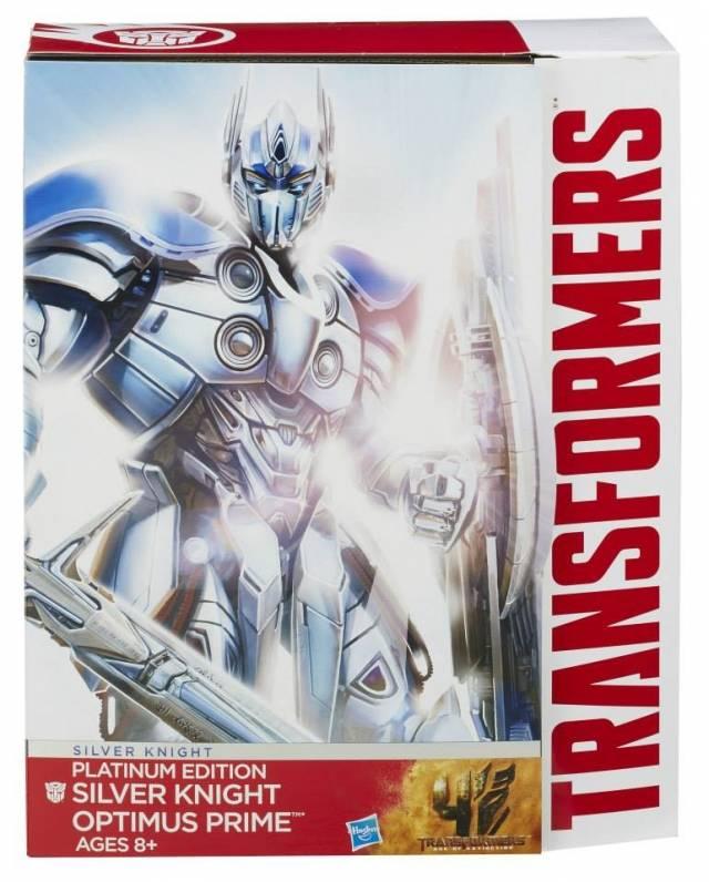 Transformers Age of Extinction - Platinum Edition Silver Knight Optimus Prime - MIB