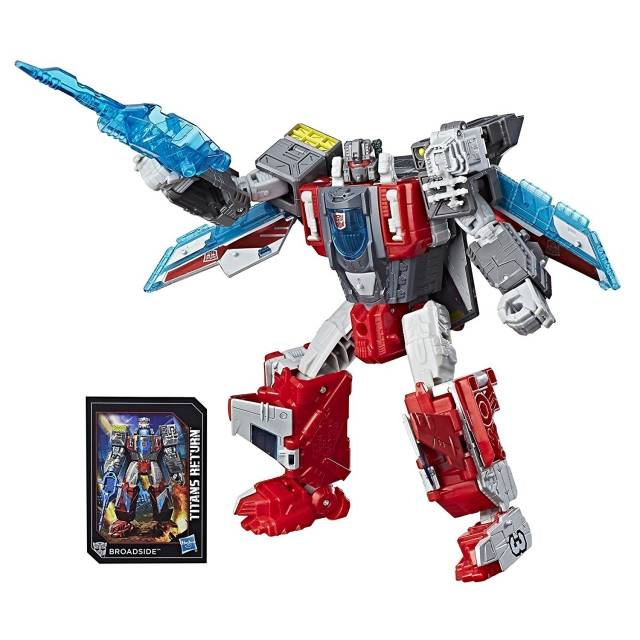 Transformers Titans Return - Voyager Class Series 4 - Broadside with Blunderbuss