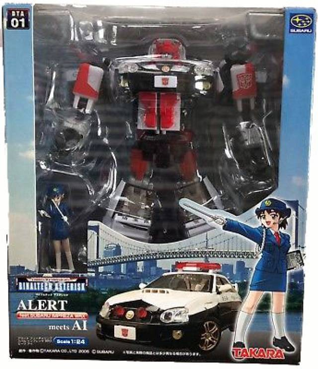 BTA-01 Binaltech Asterisk Series Red Alert + Ai-chan - MIB - 100% Complete