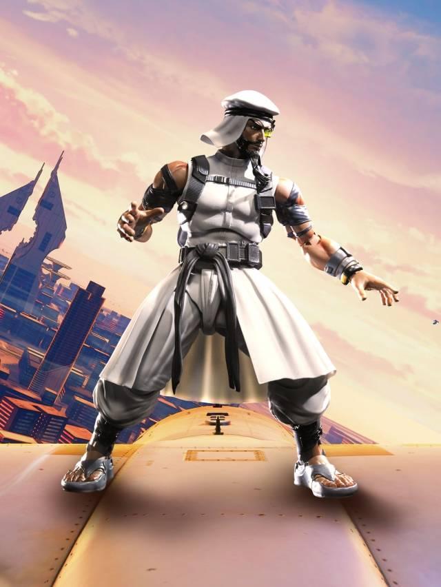 S.H. Figuarts - Street Fighter V - Rashid