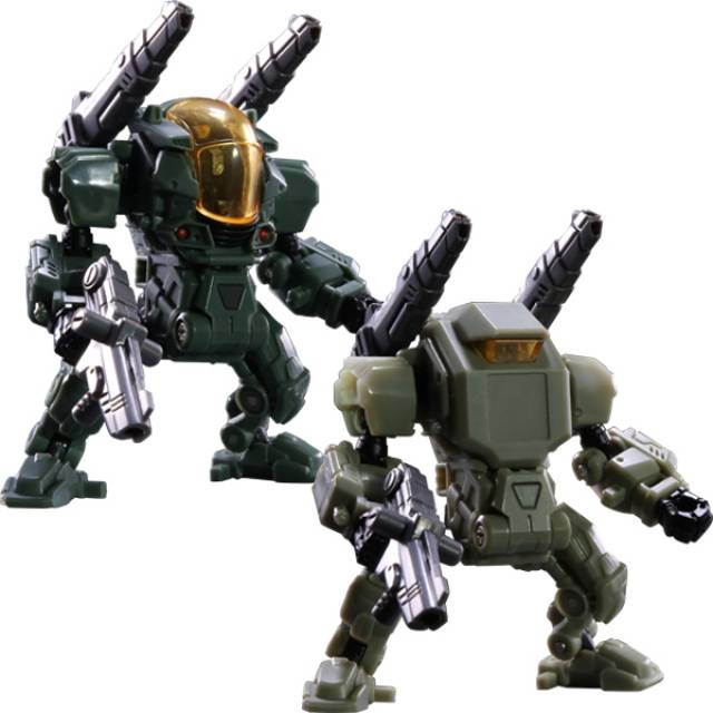 Diaclone Reboot - DA-10 Powered-Suit Set - Marine Corps Version