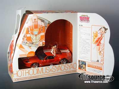 Kiss Play Players - Hot Rodimus & Syao Syao - MIB - 100% Complete