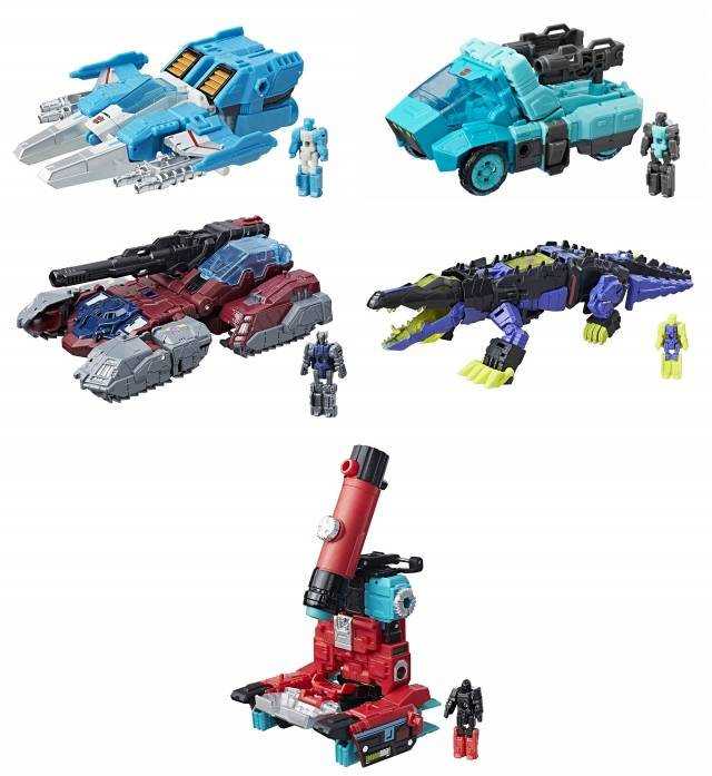 Titans Return 2017 - Deluxe Wave 4 - Set of 5