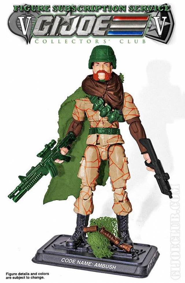 GI JOE 2017 - Subscription 5.0 Figure - Aaron ''Ambush'' McMahon